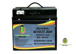 60V 28Ah Lithium Ion Battery for Electric Vehicle