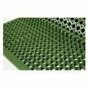 Green Rubber Mat