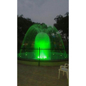 Green Decorative Led Fountain