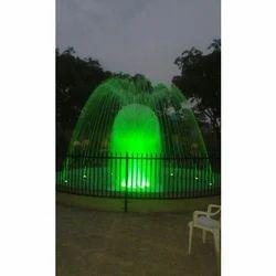 Green Decorative LED Fountain