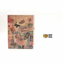 Postage Stamp Designer Paper Bag