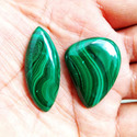 Natural Malachite Loose Gemstone for Women Jewelry