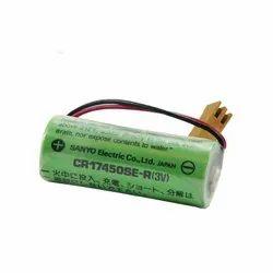 Sanyo Battery CR17450SE-R 3V A98L-0031-0012 A02B-0200-K102 A02B-0265-K101