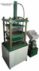 48 Cavity Sambrani Cup Dhoop Making Machine