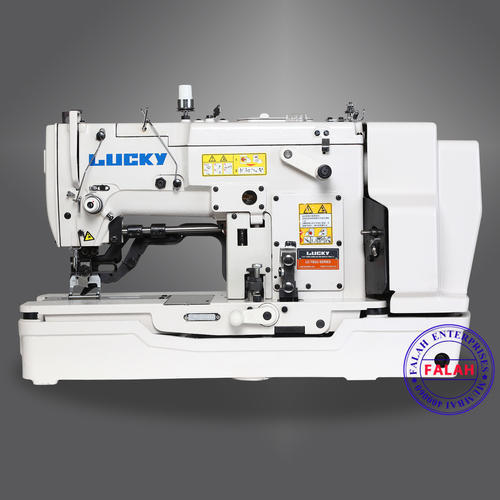 Manual Lucky Buttonhole Sewing Machine Model LC 40 Rs 40 Amazing Buttonhole Sewing Machine
