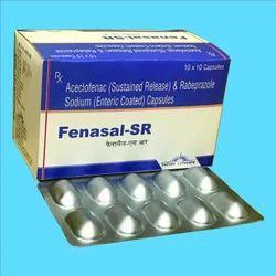 Aceclofenac SR Rabeprazole Capsules