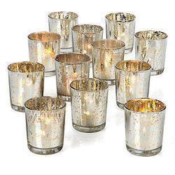 Mercury Votive Glass