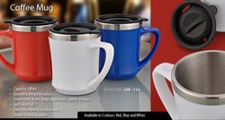 Stainless Steel Coffee Mug, Packaging Type: Box, for Home