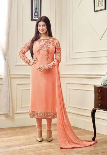 6738fbbeef Designer Suit - Designer Georgette Suits Manufacturer from Surat