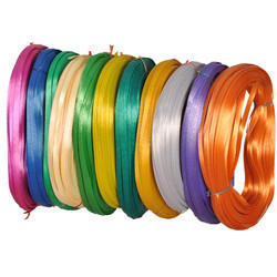Colored Plastic Broom Wire