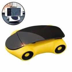 Car shape Mobile Holder ( Yellow )