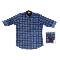 Men's Bold Check Shirt, Size: M.to XXL
