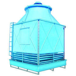 100 Tr Three Phase FRP Induced Draft Cooling Tower, 0.5 Hp