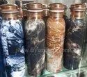 Elegant Printed Pure Copper Water Bottle