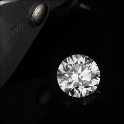 CVD Diamond 1.01ct F SI1 Round Brilliant Cut HRD Certified Stone