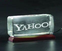 3D-1151C Custom Laser Engraved Crystal