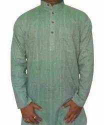 Plain Casual Khadi Cotton Shirt
