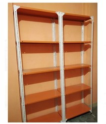 Slotted angle Rack with powder coating, For Storage, Size: 4*1*7