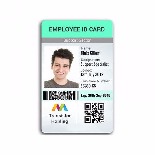 Id - Company 11058239097 Sybotec Card Alappuzha Office Id Employee