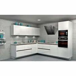 Trendy L Shaped Modular Kitchen