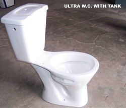 Ceramic White Ultra Two Piece Toilet