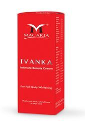 MACARIA Whitening Ivanka Intimate Beauty Cream for Personal, Pack Size: 20*9*8