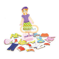 Magnetic Dress Up - Girl  Magnetic Play