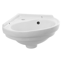 Plain Ceramic Polar Wall Hung Basin