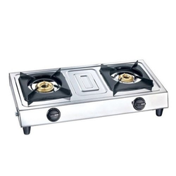 Brass Burner Stainless Steel Luxmi Super Gas Stove