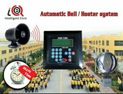 Automatic School Bell Controller With Hooter