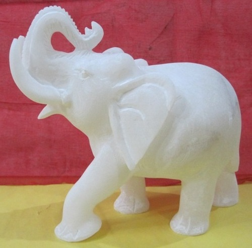White Home Decoration Marble Elephants Size Dimension N A For