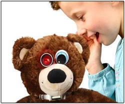 Spy Teddy Bear Hidden Camera