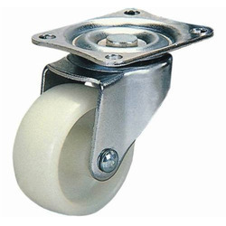 Nylon Trolley Caster Wheel, Size: 4x2 Inch