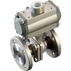 L&T Actuated Ball Valve