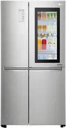 5 Star Direct Cool Instaview Door-in-Door Inverter Linear Side-By-Side Refrigerator, Double Door, Capacity: 320L