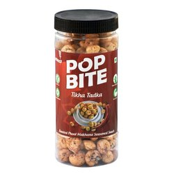 Pop Bite Peri Peri Makhana, Packaging Type: Plastic Jar