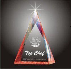 Trangle Acrylic Trophy
