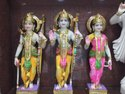 Ram Darbar Colored Marble Statue