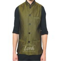 Ethnic Wear Men's Sleeveless Nehru Jacket