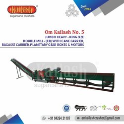King Size Sugarcane Crusher For Jaggery Plant Om Kailash No. 5 Crusher With Accessory