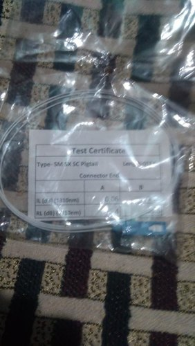 Fiber Pigtails Single-Mode Simplex Pigtail 1 Mtr