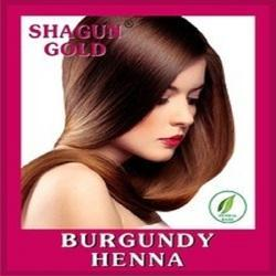 Natural Burgundy Henna Color