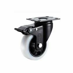 Medium Duty Ball Bearing Caster Wheels, Size: 3 To 5
