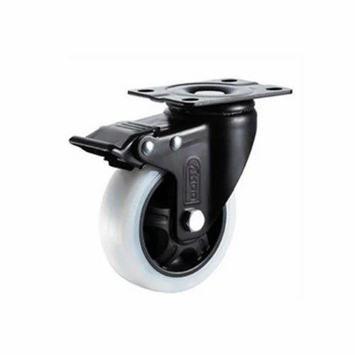 Medium Duty Ball Bearing Caster Wheels, Size: 3'  To 5'