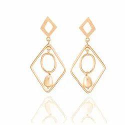 ea7b0511f13 Black Stone Pearl Polki Earring at Rs 299  pair