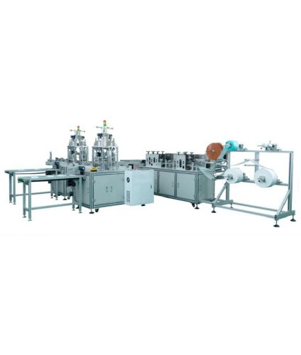 Double Line Fully Automatic Non Woven Mask Making Machine