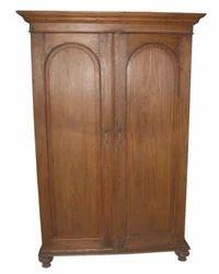 Shree Karni Handicrafts Multicolor Wooden Big Cabinet Almirah