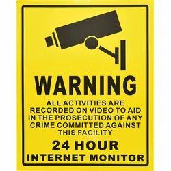 Reflective Warning Board