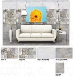 6024 (H, HA, L, D, DF) Hexa Ceramic Digital Wall Tiles