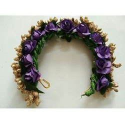 Purple Hair Brooch